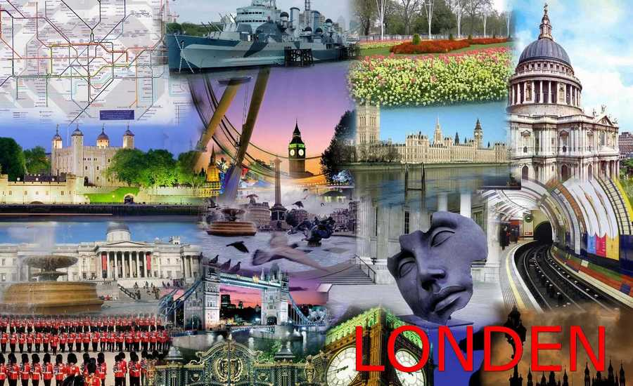 Londen_AutoCollage